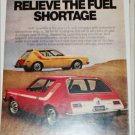1974 American Motors Gremlin car ad