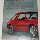 1975 American Motors Pacer car ad red