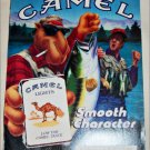 1990 Camel Lights Joe Camel Fishing Cigarette ad