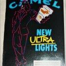 1990 Camel Ultra Lights Joe Camel Cigarette ad