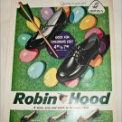 1959 Brown Robin Hood Shoes Easter ad