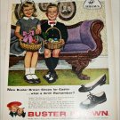 1959 Brown Buster Brown Shoes Easter ad