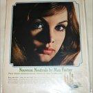 1965 Max Factor Noveau Neutrals Eye Makeup ad