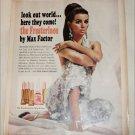 1966 Max Factor Frosterinos Nail Polish ad