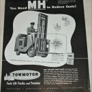 1948 Towmotor Fork Lifts ad