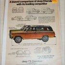 1976 American Motors Jeep Cherokee ad