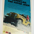 1976 American Motors Jeep Renegade ad