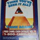 1993 Camel Cigarette Pyramid Contest ad