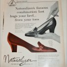 1959 Brown Buckler Shoe ad