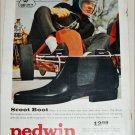 Brown Pedwin Scoot Boot ad