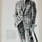1957 Burberrys 2 Piece Suit ad from the UK