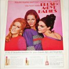 1969 Max Factor Blush A Bye Babies Cosmetics ad