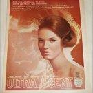 1969 Max Factor Ultralucent Liquid Makeup ad