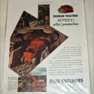 1952 Allis-Chalmers Crawler Tractors ad