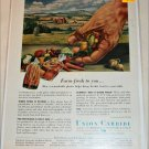 1955 Union Carbide Farm Fresh To You ad