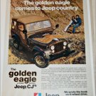 1977 American Motors Golden Eagle Jeep CJ ad