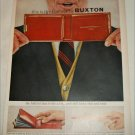 1957 Buxton Contour Billfold ad