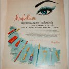 1960 Maybelline Eye Makeup ad