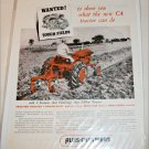 1953 Allis-Chalmers CA Tractor ad
