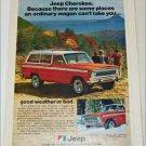 1978 American Motors Jeep Cherokee ad