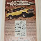 1978 American Motors Jeep Cherokee Chief ad