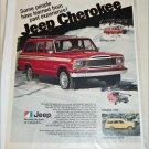 1979 American Motors Jeep Cherokee ad