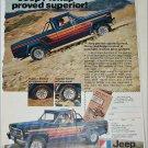 1979 American Motors Jeep Honcho Pickup truck ad