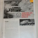 1980 American Motors Eagle Drive Report