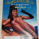 1999 Camel Cigarette Sexy Woman ad