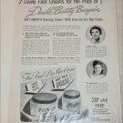 1941 Ponds Skin Cream ad