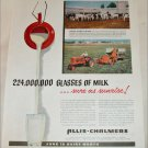 1955 Allis-Chalmers Tractor & Harvest Forager ad