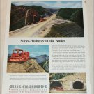 1954 Allis-Chalmers Caterpillar ad
