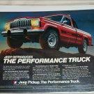 1980 American Motors Jeep Pickup truck ad