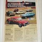 1981 American Motors Lineup car ad