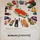 1954 Howard Johnsons ad