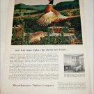 1953 Weyerhauser Timber Company Pheasants ad