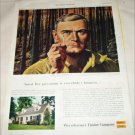 1955 Weyerhauser Timber Company Fire Prevention ad