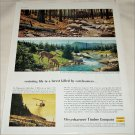 1959 Weyerhauser Timber Company Carelessness ad