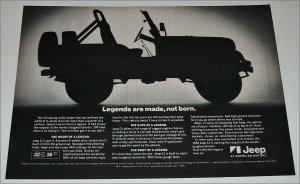 1981 American Motors Jeep CJ ad