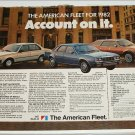 1982 American Motors Lineup car ad