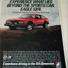1982 American Motors Eagle SX4 car ad #2