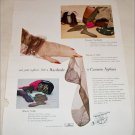 1948 Cannon Nylon Stockings ad
