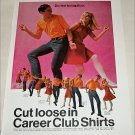 1967 Career Club Shirts ad