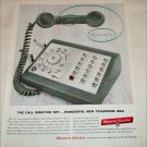 1959 Western Electric Call Director Set ad
