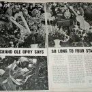 1963 Patsy Cline, Hawkshaw Hawkins, Cowboy Copas Funeral article
