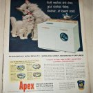 1955 Apex Washer Dryer ad