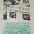 1951 Caloric Gas Range ad
