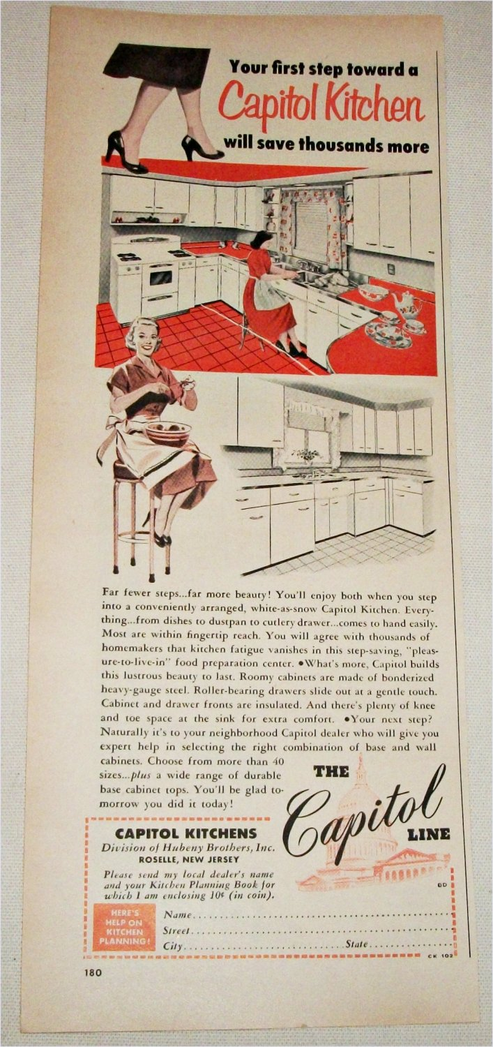 1951 Capitol Kitchen ad