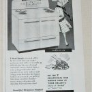 1950 Crosley Electric Range ad