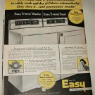 1958 Easy Washer and Dryer ad